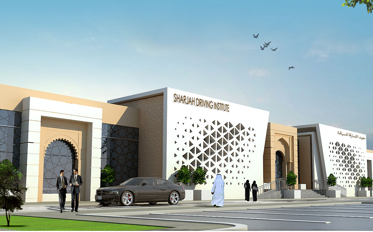 New Building of the Sharjah Driving Institute